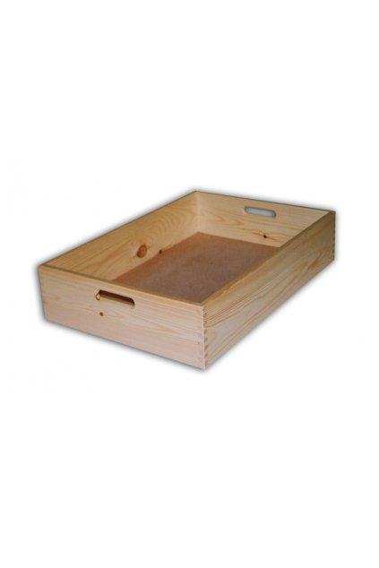 Dřevěná bedýnka 60x40x13cm