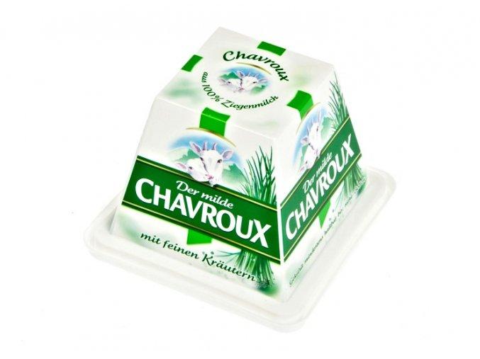 Chavroux Kozí sýr s pažitkou2