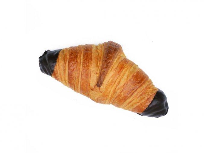 1 croissant s cokoladou a liskooriskovou naplni