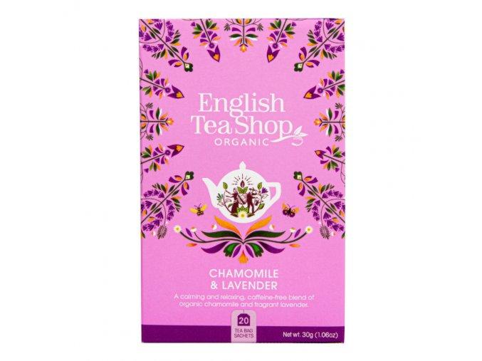 čaj heřmanek levandule