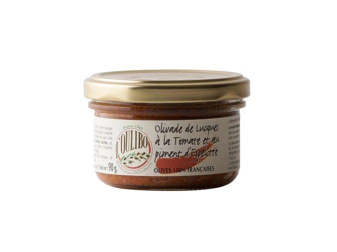 olivade de lucques a la tomate et piment d espelette