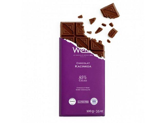 tablette chocolat noir kacinkoa