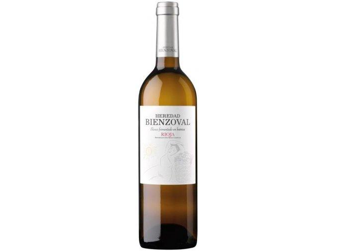 vino blanco joven heredad bienzoval