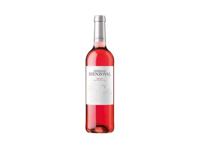 vino rosado joven despalillado heredad bienzoval