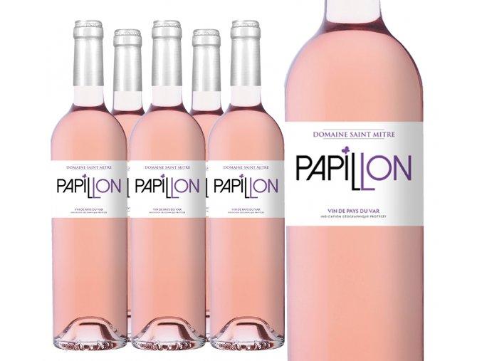 Pappilon rose 12ks