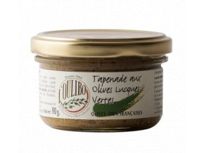 tapenade aux olives lucques vertes