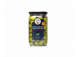 Kopie lucques du languedoc aop olives vertes