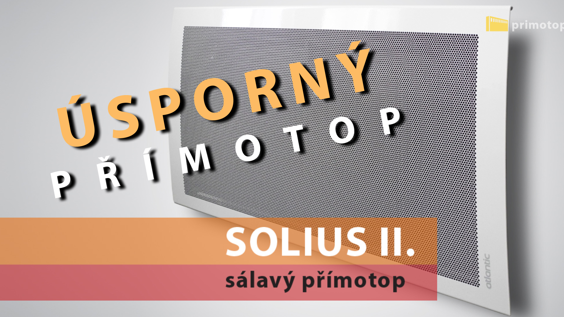 Sálavý přímotop ECOFLEX SOLIUS II