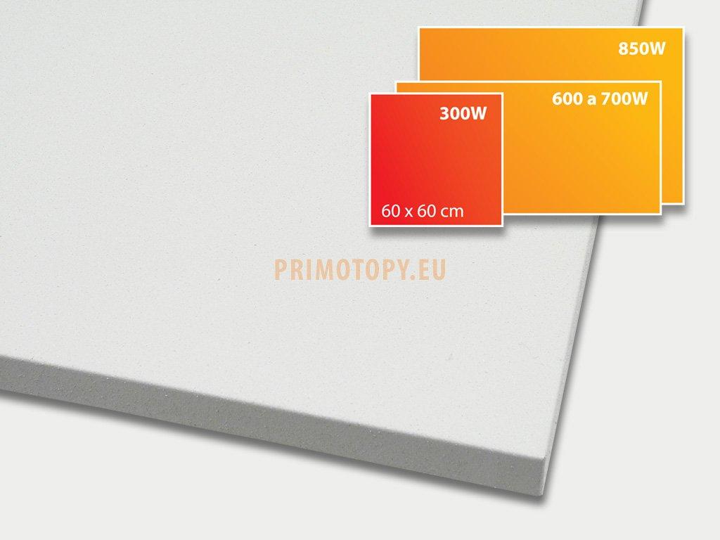 ECOSUN 300 U+ - sálavý topný panel 300W