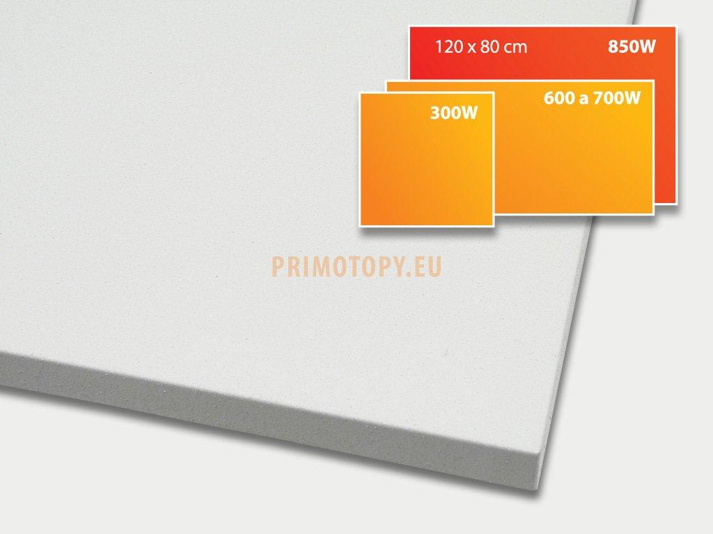 ECOSUN 850 U+ sálavý topný panel 850W