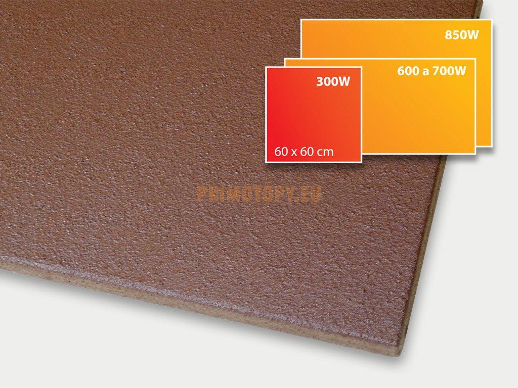 ECOSUN 300 U+ sálavý topný panel 300W