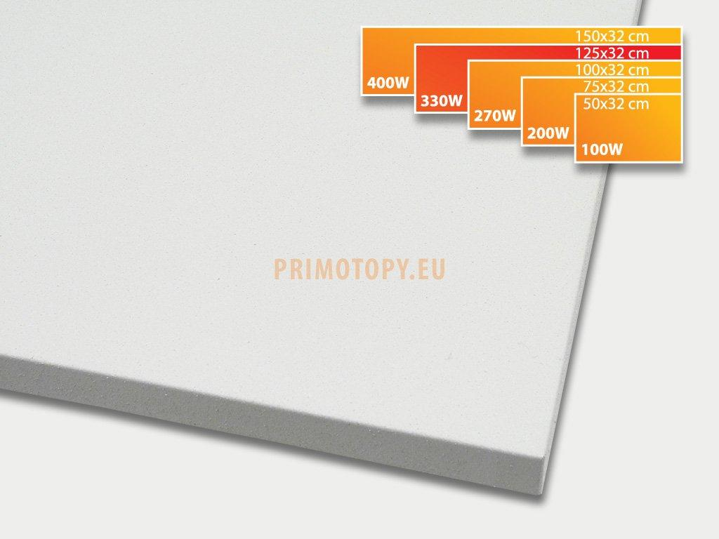 ECOSUN 330 K+ sálavý topný panel 330W (bílý)