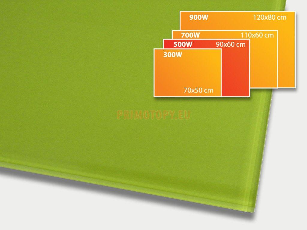 gr panel 500 green
