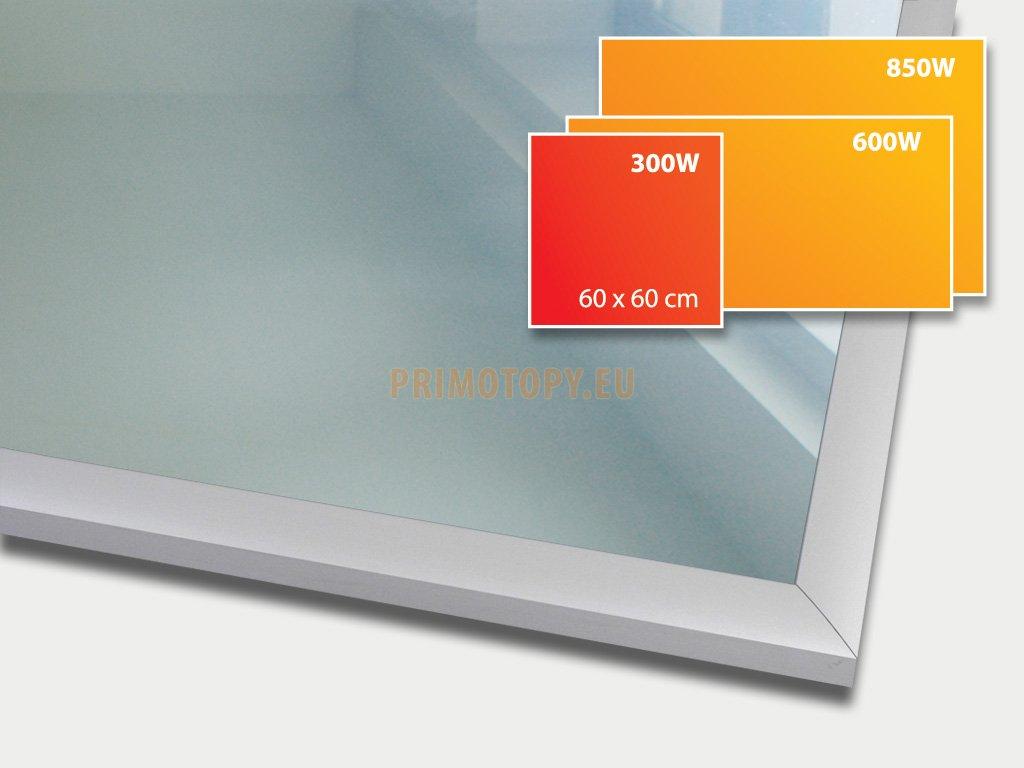 ECOSUN 300 G Mirror, sálavý skleněný panel 300 W