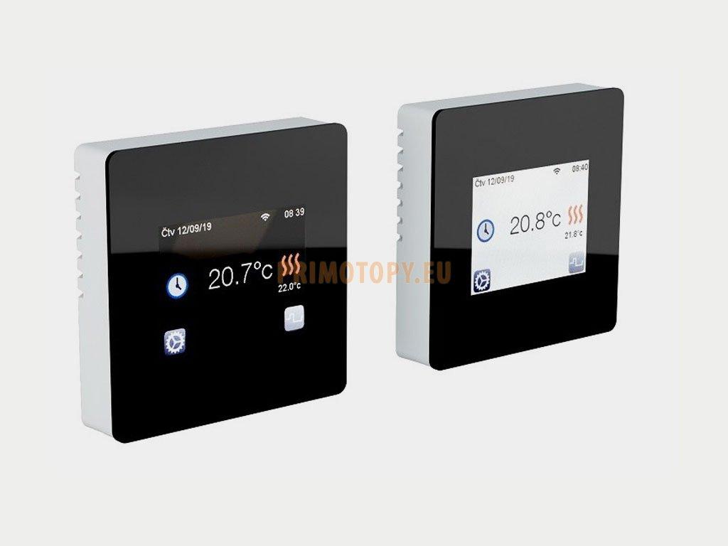2427 1 fenix tft wifi black programovatelny termostat s dotykovym displejem pro podlahove vytapeni