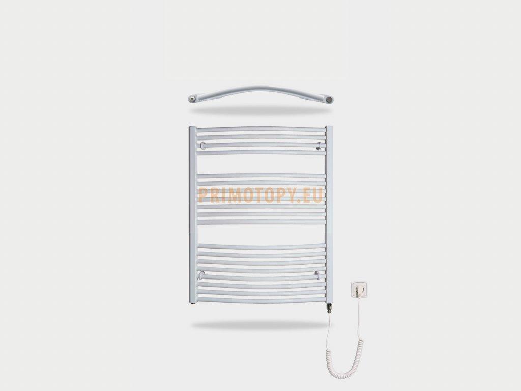 Elektrický topný žebřík oblý KDO-E 600x960 600W 600 x 960 mm