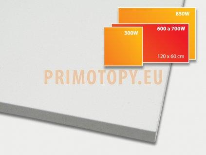 ECOSUN 600 U+ sálavý topný panel 600W