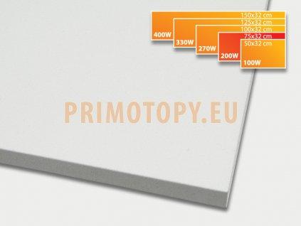 ECOSUN 200 K+ sálavý topný panel 200W (bílý)
