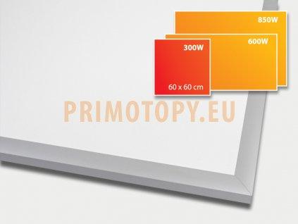 ECOSUN 300 E White, sálavý skleněný panel 300 W