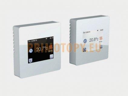 2424 1 fenix tft wifi white programovatelny termostat s dotykovym displejem pro podlahove vytapeni