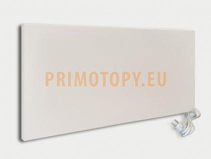 ECOSUN 750 IKP nízkoteplotní topný panel 750 W bílý se zvýšeným krytím IP 54 s vidlicí