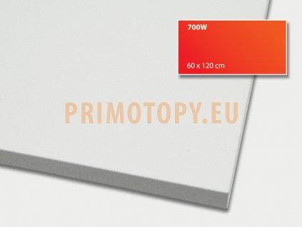 ECOSUN 700 IN-2 (bílý) nízkoteplotní topný panel 700 W se zvýšeným krytím IP 65 + E Ex 2 průmysl