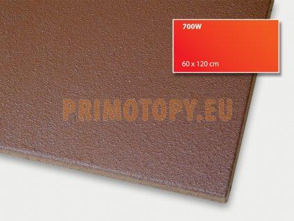 ECOSUN 700 IN (hnědý) nízkoteplotní topný panel 700 W se zvýšeným krytím IP 66 průmysl