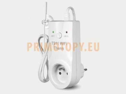 TS11 WiFi Therm Zásuvkový WiFi termostat pro sálavé panely a přímotopy