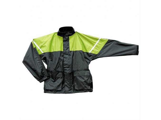 vyr 1757Bunda do deste na moto SECA RAIN fluo