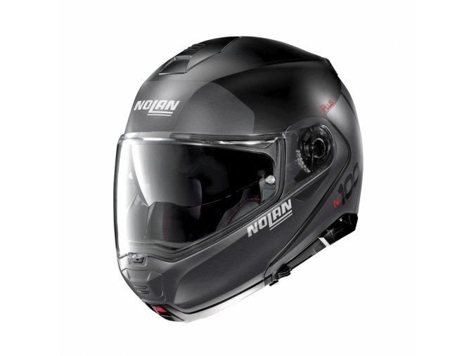 moto helma nolan n100 5 plus distinctive n com flat black 21