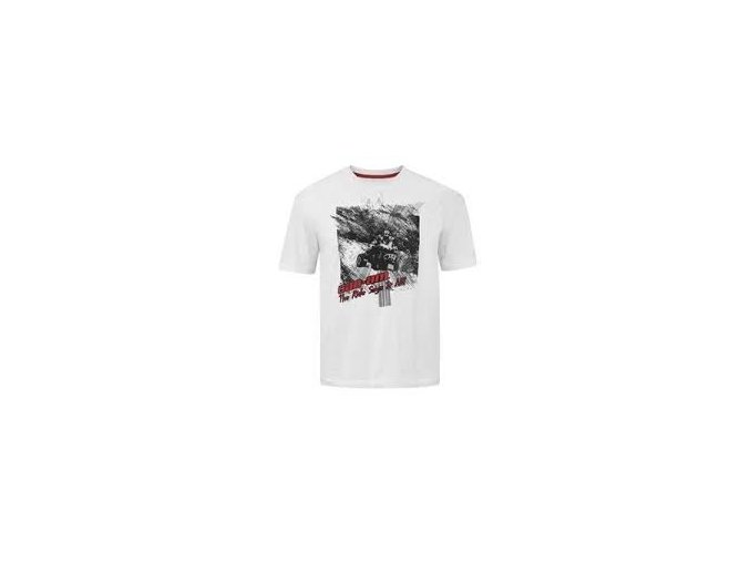 Can-Am Track tee tričko white vel. XXL