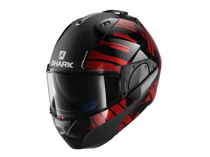 Shark Evo-One 2 Lithion Dual black/chrom/red