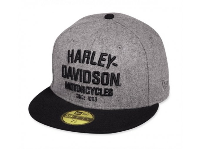 Kšiltovka Harley Davidson Black Label Wool 59THIRTY