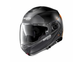 moto helma nolan n100 5 plus distinctive n com flat black 26 (1)