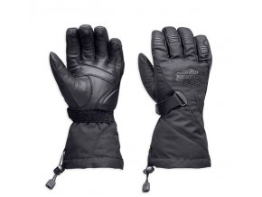 Rukavice Harley Davidson Passing Link Waterproof Gauntlet Gloves 98305-14VM vel. M