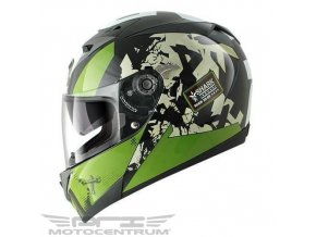 Shark S700 S Trax green vel. XL