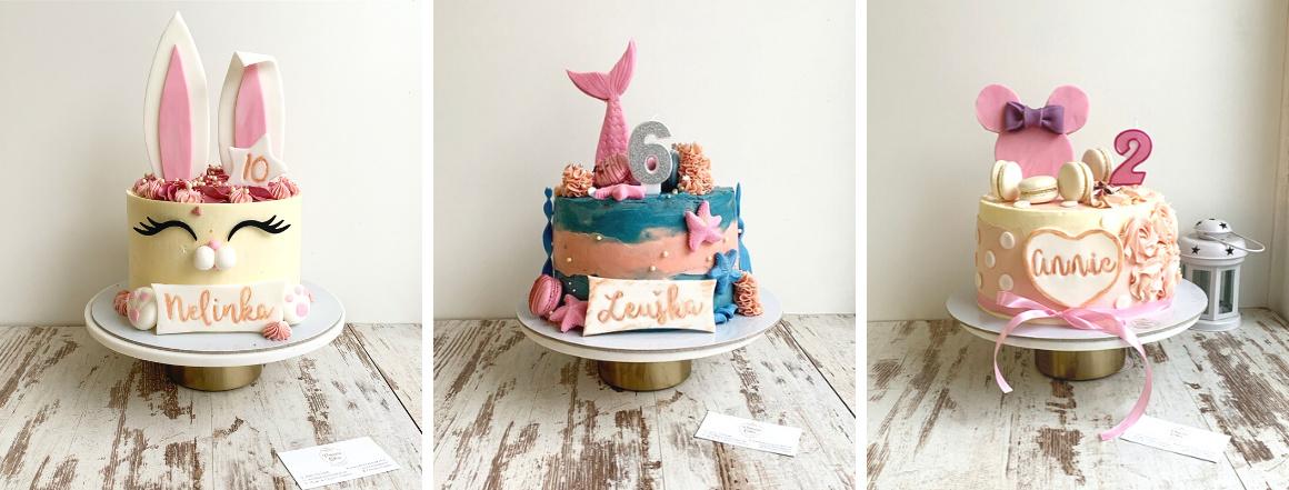 Detské torty na mieru od Princess Cakes