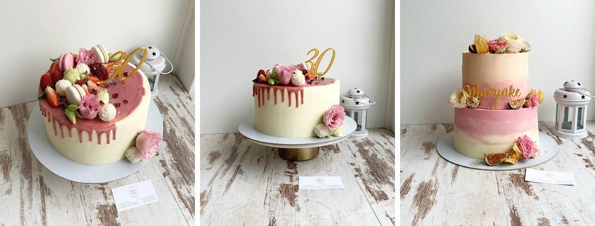 Narodeninové torty na mieru od Princess Cakes