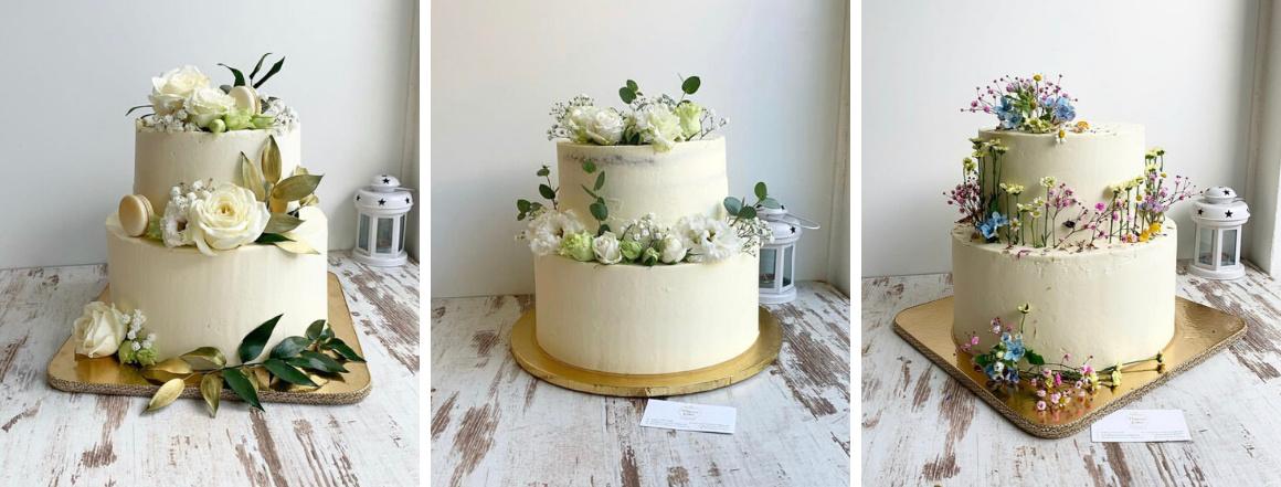 Luxusné torty na svadbu Princess Cakes