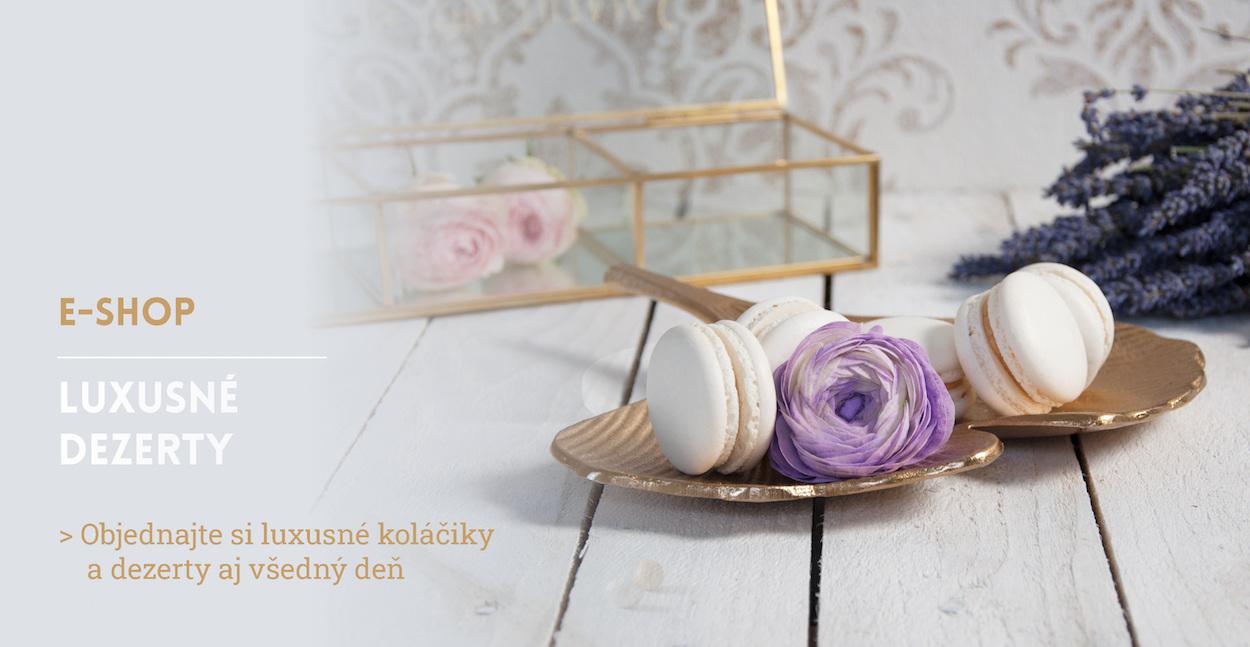 Luxusné moderné dezerty od Princess Cakes Trenčín