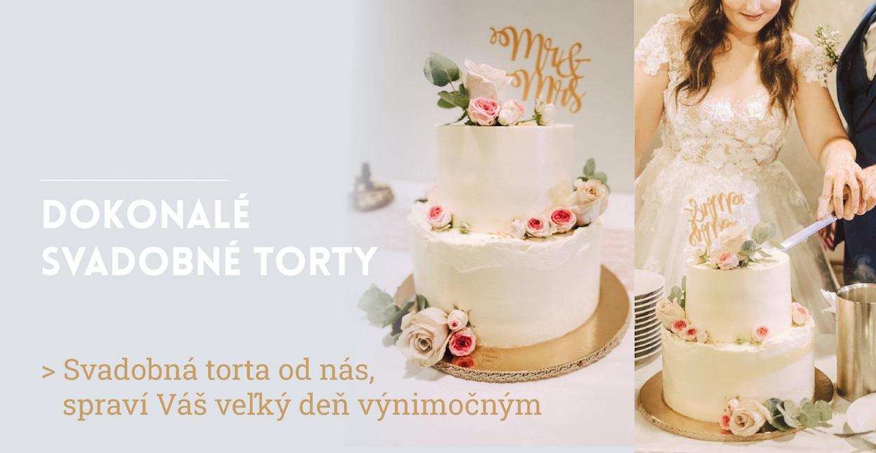 Moderné svadobné torty od Princess Cakes Trenčín