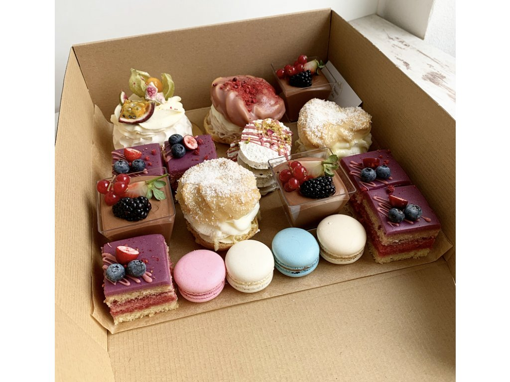 Maxi krabica koláčikov