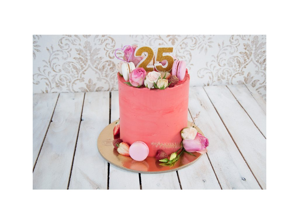 1-poschodová torta zvýšená