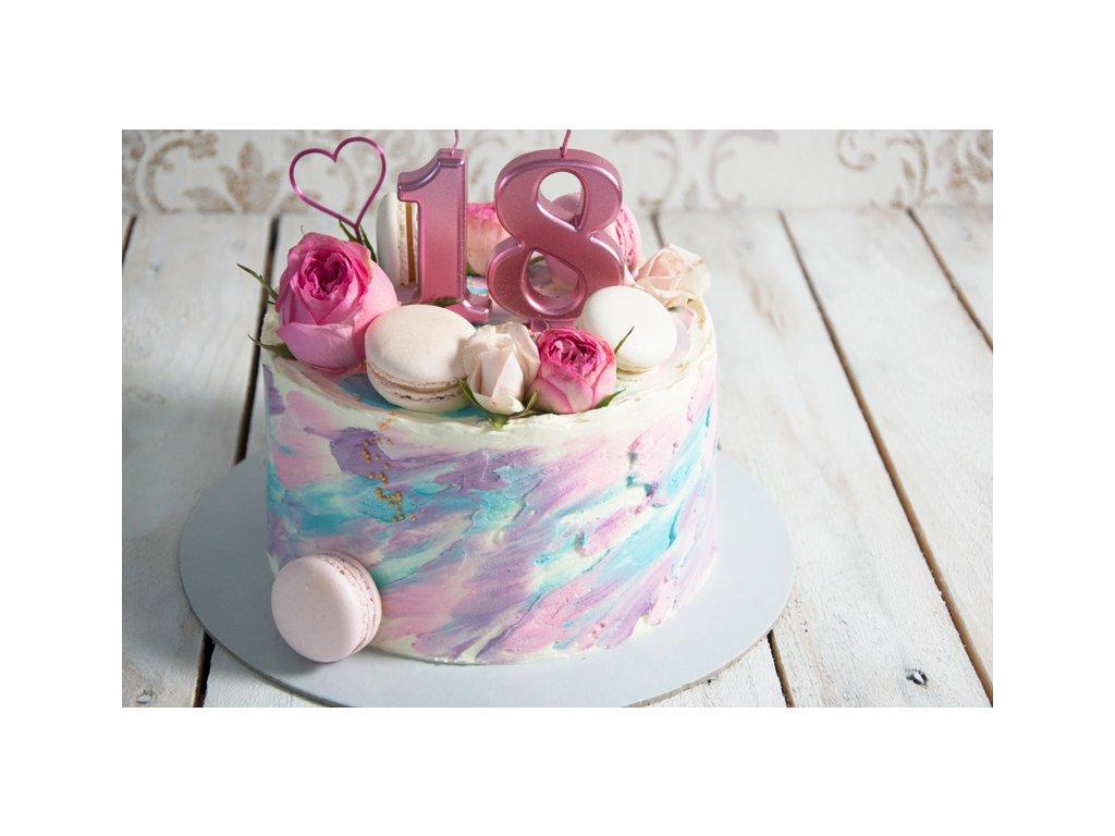 1-poschodová torta malá