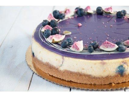 Čučoriedka cheesecake