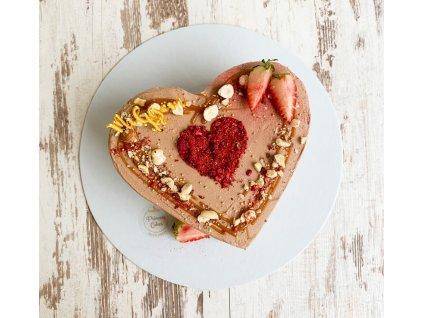 Mini torta srdce