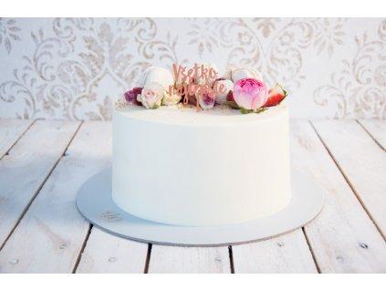 1-poschodová torta veľká