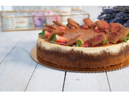 Karamel-Lotus cheesecake
