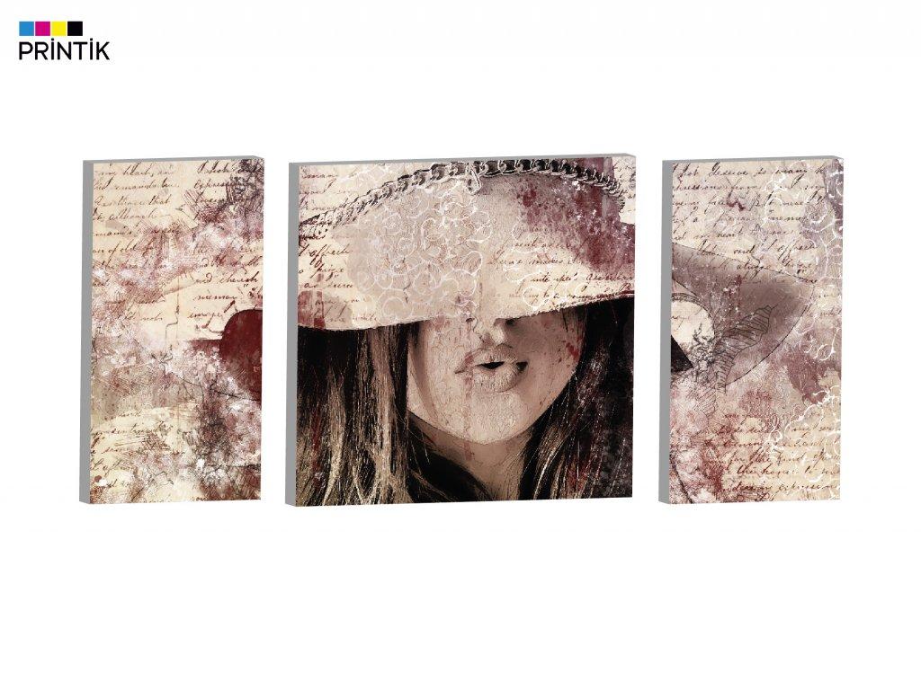 Abstrakt dáma profilové foto