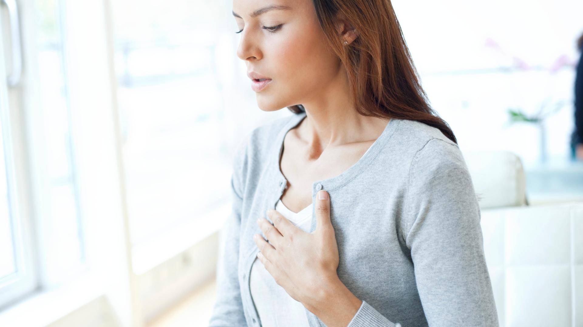 dýchací ústrojí a jeho vztah k dalším strukturám
